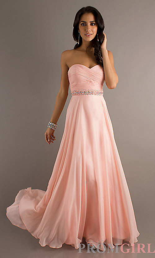 Cheap Strapless Prom Dresses - Boutique Prom Dresses