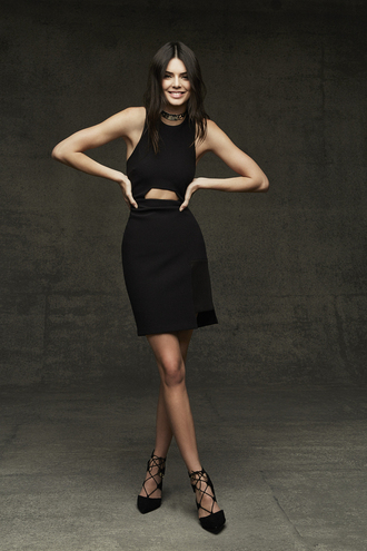 dress pumps little black dress black dress cocktail dress all black everything shoes kendall jenner