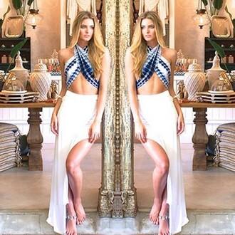 skirt divergence clothing slit skirt white skirt boho boho chic maxi skirt asymmetrical skirt coachella fashion coachella dress maxi skirt with slits slitted maxi skirt sexy skirt sexy shirt