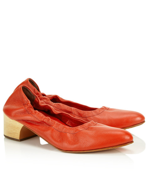 Rachel Comey pumps leather red