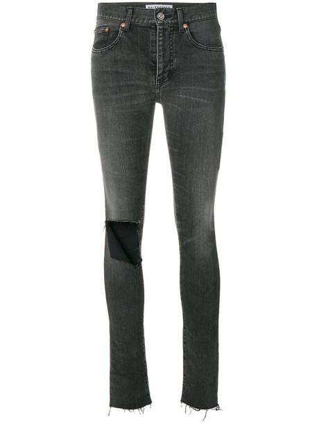 Balenciaga jeans skinny jeans women spandex cotton black