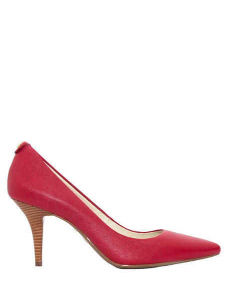 Michael Kors leather red shoes