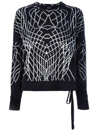 sweatshirt black sweater