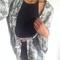 Black halter top from luna amora on storenvy