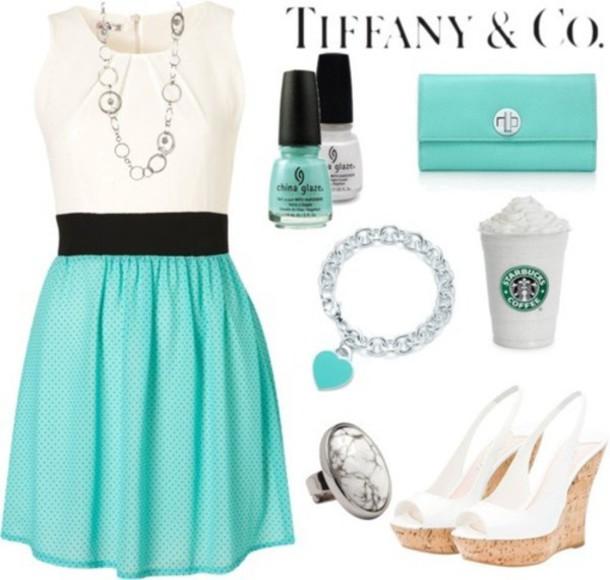dress pastel blue