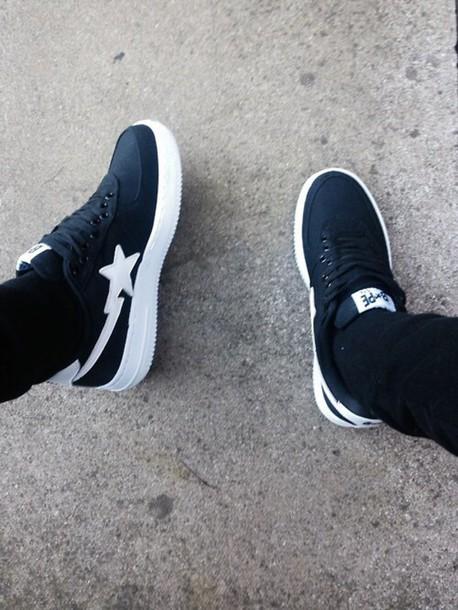 shoes bape bapestas sneakers