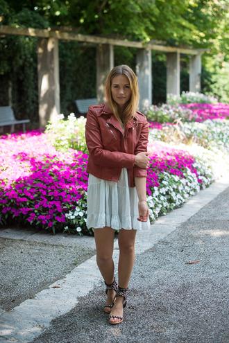 fashion gamble jacket dress jewels shoes
