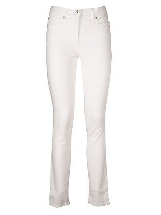 jeans fit white