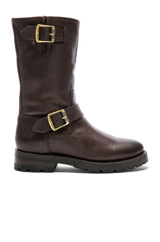 boot chocolate brown shoes