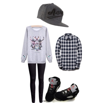 sweater kpop kpop fashion graphic sweater plaid button up flannel shirt snapback jordans bangtan boys kim taehyung