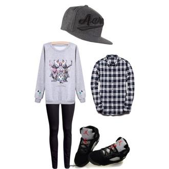 snapback sweater kpop kpop fashion graphic sweater plaid button up flannel shirt jordans bangtan boys kim taehyung
