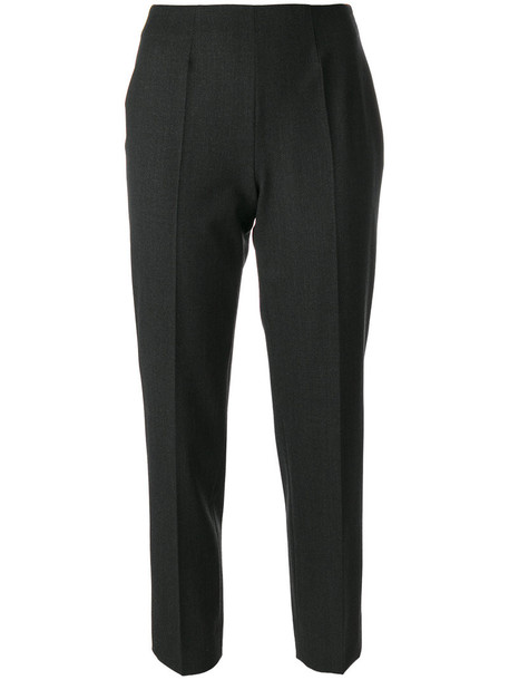 Piazza Sempione pants women spandex wool grey