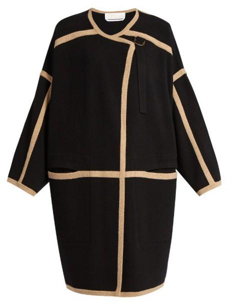Chloe coat wool black