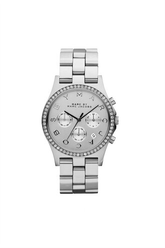 jewels grey watch marc jacobs