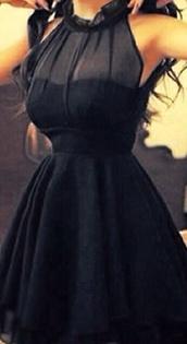 dress,little black dress,mesh neck,black,red,little pink dress,black dress with see through top part,black see through top part,black dress,cute dress,bleu dress