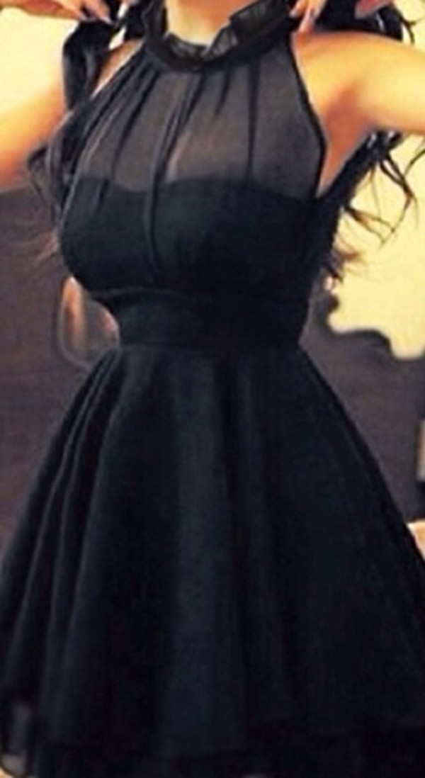 dress little black dress mesh neck black red little pink dress black dress with see through top part black see through top part black dress black dress cute dress bleu dress