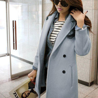 classy popular fashion preppy noble and elegant beauty girl women new cool clothes coat woolen coat long coat winter jacket warm coat beautiful cute cardigan