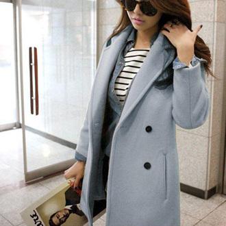 cool winter jacket coat popular fashion beautiful girl new cute classy clothes noble and elegant beauty preppy women cardigan woolen coat warm coat long coat