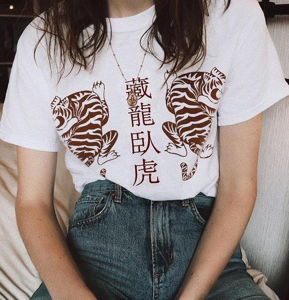 blouse girly t-shirt white t-shirt print printed t-shirt