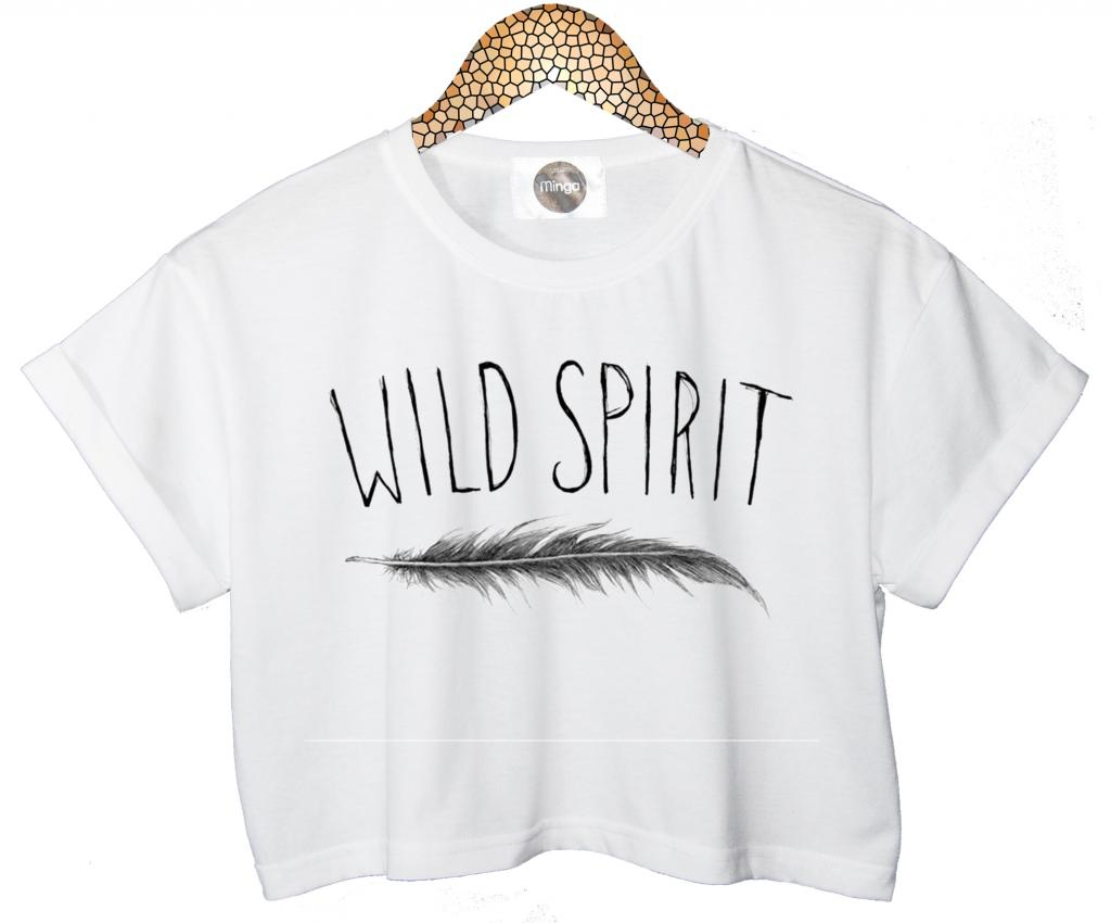 Wild Spirit T Shirt Crop Top Feather Tank Free Indie Retro Vtg Tumblr Hipster | eBay