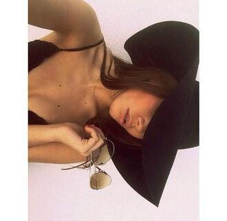 hat sun hat black fashion big hat