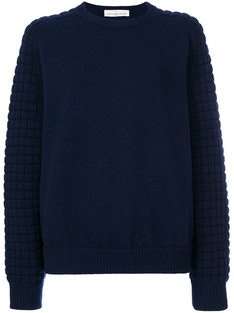 GOLDEN GOOSE DELUXE BRAND sweater knitted sweater women classic blue wool