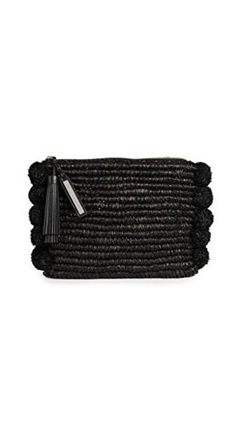 Loeffler Randall tassel pouch black bag
