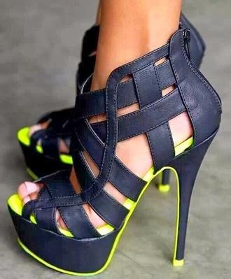 shoes heels peep toe pumps black pumps