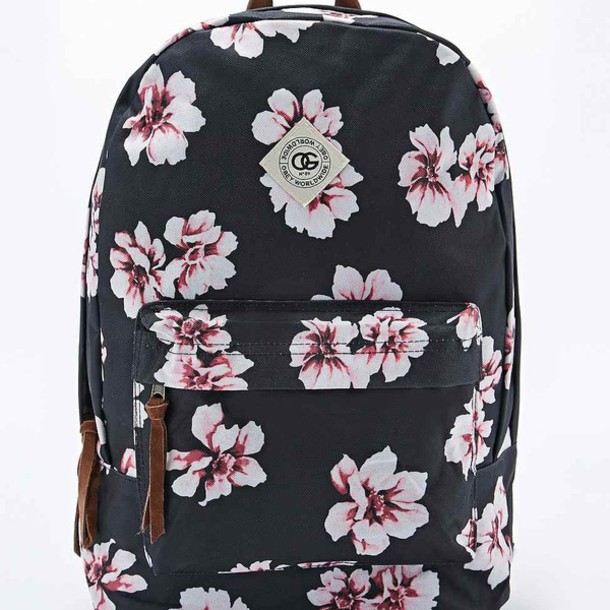 d31e66eb62ac4f bag obey backpack swag school bag old school vans floral boho flowers urban  urban outfitters hype