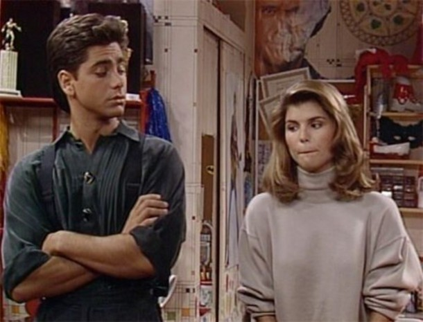 sweater becky katsopolis turtleneck full house 90s style