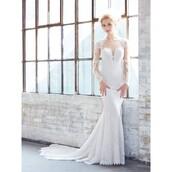 dress,long sleeves,trainers,sweep train,wedding dress,fall outfits