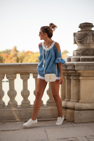lovely pepa blogger top shorts