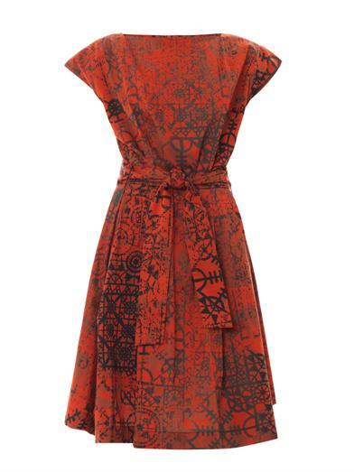 Moa Stave lace-print dress | Vivienne Westwood Anglomania | MA...