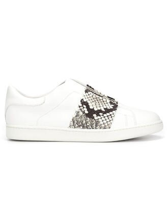 python sneakers white shoes