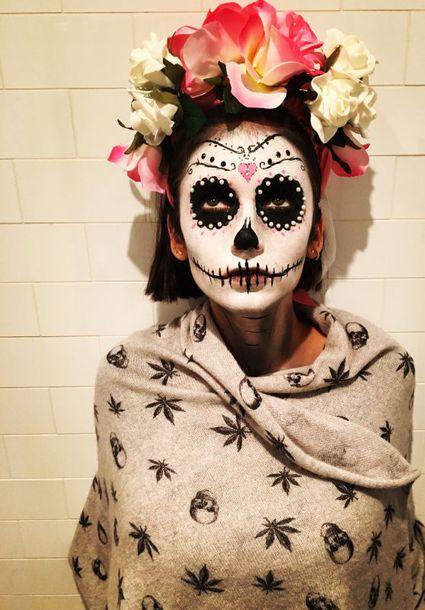 make-up instagram nina dobrev halloween halloween makeup celebrity halloween costume