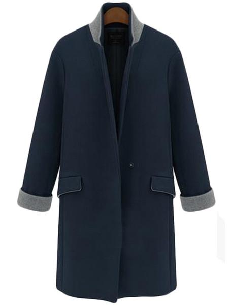 Twone blazer over coat