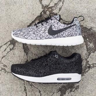 shoes nike nike air nike running shoes nike shoes nike sneakers nike roshes  floral black grey