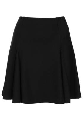 Black Godet Flippy Skirt - Topshop
