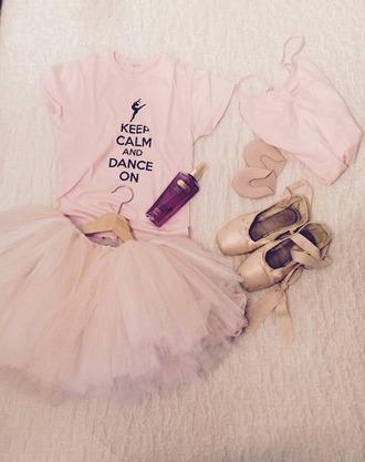 t-shirt ballet dance