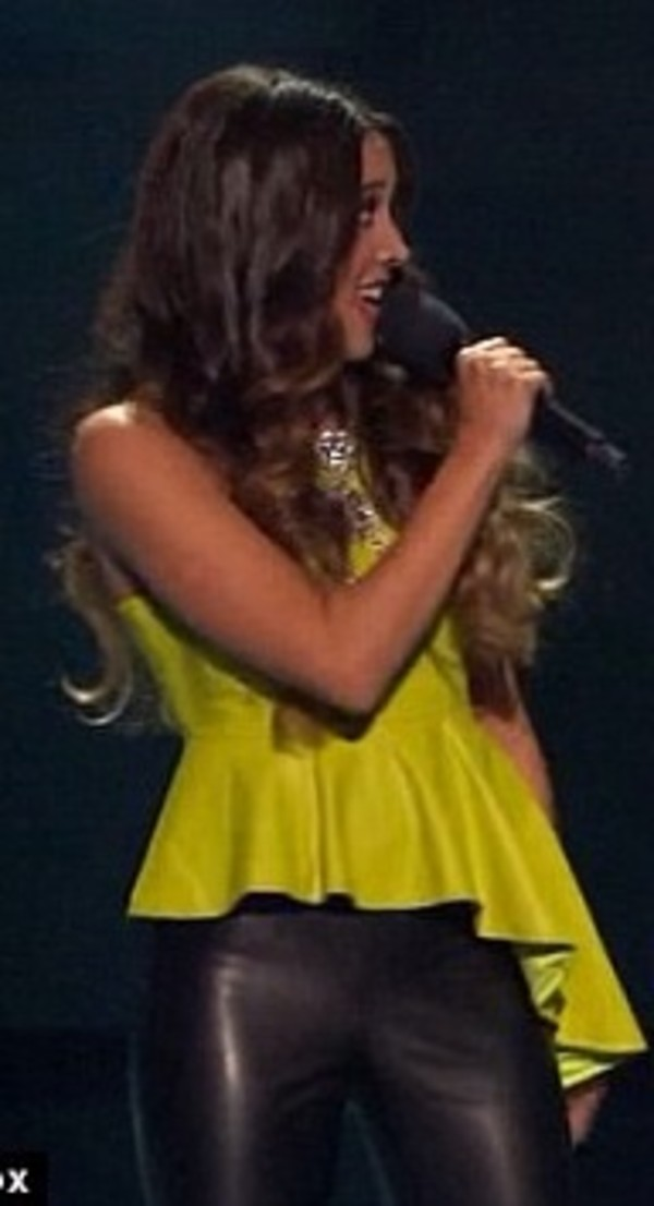 blouse green xfactor alex and sierra peplum