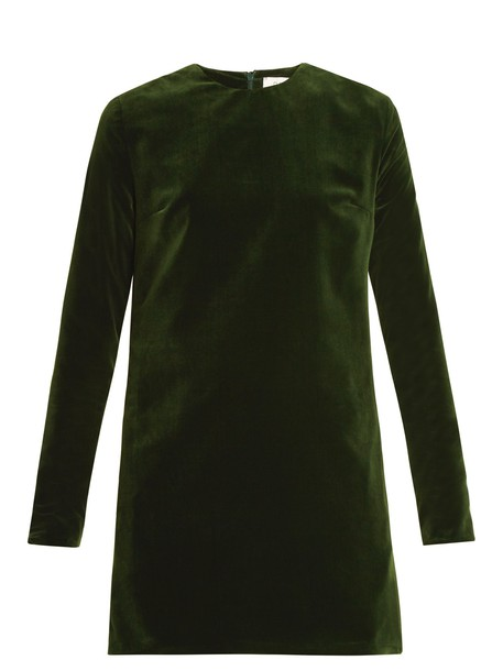 Racil dress mini dress mini velvet green