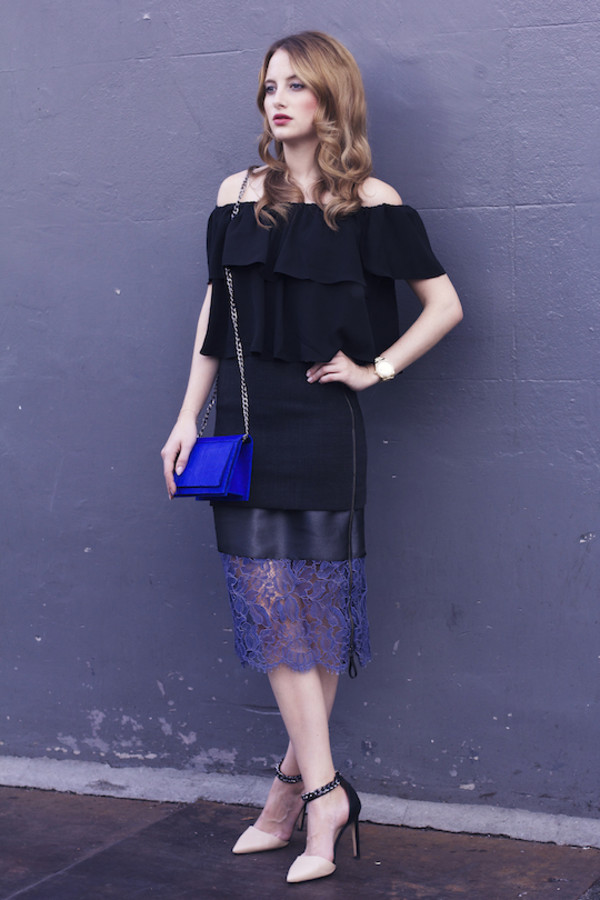 at fashion forte blogger top jewels bag clutch