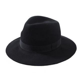 hat acacia brinley black fedora