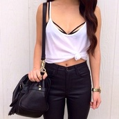underwear,strappy bra,bra,tank top,white tank top,black bra,high waisted,high waisted pants,High waisted shorts,black shorts,black pants,blouse,pants,bag,t-shirt,bralette,black,tumblr,hipster,indie,black bikini,tumblr fashion,jeans,tank too,bandeau bikini,bandeau,summer,top,black long strap,high waisted jeans,watch,outfit,lace bralette,bra!!!,chain,big,straps,style,shirt,high heels,summer outfits,beautiful