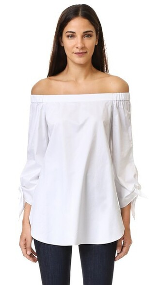 tunic white top