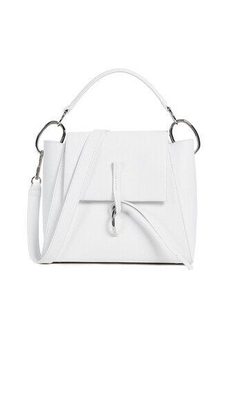 satchel white bag