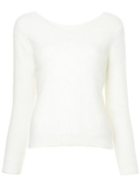 Loveless jumper women white sweater