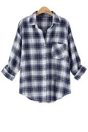 blouse,zaful,plaid,plaid shirt,black,black shirt,black and white shirt,black plaid,long sleeves,plaid flannel,flannel,flannel shirt,plaid flannels,gray flannel,grey flannel