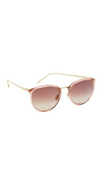 rose tea sunglasses brown