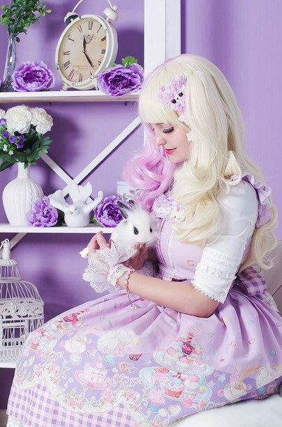 dress kawaii pastel fashion lolita
